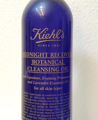 Очищающее масло Kiehl's Midnight Recovery Botanical Cleansing Oil отзыв